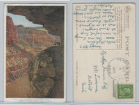 Postcard, Arizona, Kiabab Trail, Grand Canyon, 1930, Peach Springs, AZ
