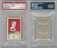 C0-0 Cummings, Famous Fighters, 1947, #44 Randolph Turpin, PSA 6 EXMT
