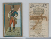 N303 Mayo, Costumes of Warriors & Soldiers, 1892, Officer Of Hussars (B)