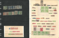 Nepal Stamp Collection, Rare Lot Of Early Classics, Revenues, Proofs, 4 Pages