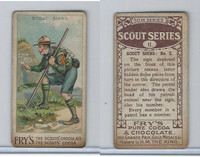 V39  J.S. Fry, Scout Series, 1912, #11 Scout Signs (B)