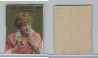 1890 W.S. Kimball Cigarettes, Actresses, Tobacco Card (B), PHX