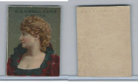 1890 W.S. Kimball Cigarettes, Actresses, Tobacco Card (C), PHX