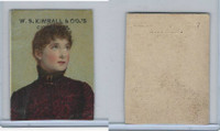 1890 W.S. Kimball Cigarettes, Actresses, Tobacco Card (E), PHX