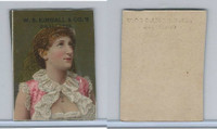 1890 W.S. Kimball Cigarettes, Actresses, Tobacco Card (F), PHX