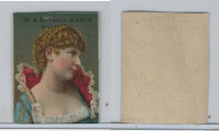1890 W.S. Kimball Cigarettes, Actresses, Tobacco Card (J), PHX