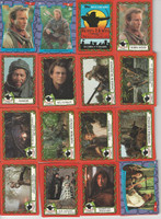 1991 Topps, Robin Hood Prince of Thieves, Complete Set, 55 Cards 9 Stickers, PHX
