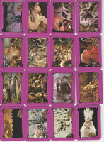 1982 The Dark Crystal, Complete Set, 78 Cards, PHX