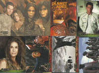 2001 Planet of the Apes, 90 Cards, 6 Simian Suede Cards, PHX
