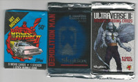 1989-94 Unopened Packs, Back to the Future 2, Demoltion Man, Ultraverse, PHX