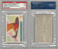 F277-1, H.J. Heinz, Famous Airplane Pictures, 1935, #18 Curtiss, PSA 7 NM