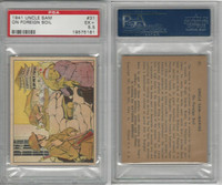 R157 Gum Inc, Uncle Sam, 1941, #31 On Foreign Soil, China, PSA 5.5 EX+