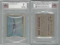 1950 Topps, Freedoms War, #77 Consolidate B-46 Airplane, BVG 7 NM