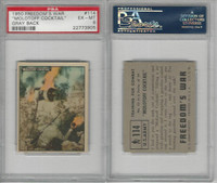1950 Topps, Freedoms War, #114 Molotoff Cocktail, US Army, PSA 6 EXMT