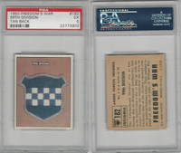 1950 Topps, Freedoms War, #182 99th Division, PSA 5 EX