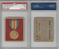 1950 Topps, Freedoms War, #197 Victory Medal, PSA 5 EX