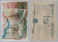 A22 Allen & Ginter, Our Navy, 1890, Ships, Boston & Wabash