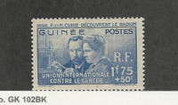French Guiana, Postage Stamp, #B2 Mint LH, 1930