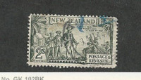 New Zealand, Postage Stamp, #197 Used, 1935 Captain Cook Poverty Bay