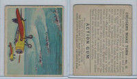 R1 Goudey, Action Gum, 1938, #16 Cruisers Make Turn