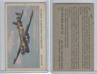 E151 Cracker Jack, Fighting Planes, 1940's, Armstrong Whitley, England