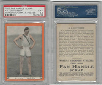 T230 Pan Handle, Worlds Champion Athletes, 1910, AL Gutterson, PSA 5.5