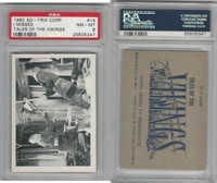 1960 Ad-Trix Corp., Tales of the Vikings, #14 I Missed, PSA 8 NMMT