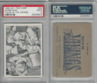 1960 Ad-Trix Corp., Tales of the Vikings, #55 Guess Who, PSA 9 MInt