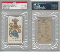 N181 Kimball, Arms of Dominions, 1888, France Bourbon, PSA 4 VGEX