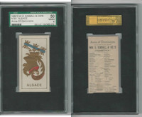 N181 Kimball, Arms of Dominions, 1888, Alsace, SGC 50 VGEX