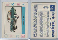 1958 Leaf, Cardo Trading Cards, #A-11 Lincoln 195-X
