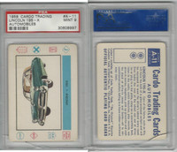 1958 Leaf, Cardo Trading Cards, #A-11 Lincoln 195-X, PSA 9 Mint