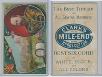 H605 Clark's Thread, Rulers and View, 1890's, England