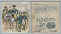 H606 J&P Coats, Uniform Of The Army of the United States, 1890's, 1779-1783