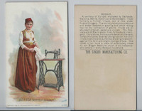 H639 Singer Sewing, Costumes of all Nations, 1892, Bosnia, Austria-Hungary (F)