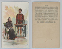 H639 Singer Sewing, Costumes of all Nations, 1892, India Female/Male