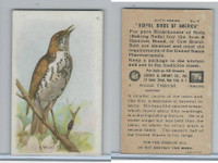 J9-2, Church & Dwight, Useful Birds America 6th Ser., 1925, #8 Wood Thrush