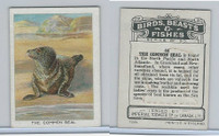 C1 Imperial Tobacco, Birds, Beasts, & Fishes, 1923, #44 Common Seal