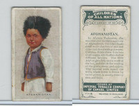 C6 Imperial Tobacco, Children Of All Nations, 1924, #1 Afganistan