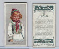 C6 Imperial Tobacco, Children Of All Nations, 1924, #13 Denmark