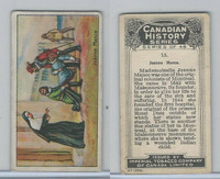 C5 Imperial Tobacco, Canadian History, 1926, #15 Jeanne Mance
