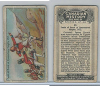 C5 Imperial Tobacco, Canadian History, 1926, #40 Death of Brock