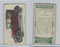 C22 Imperial Tobacco, Motor Cars, 1921, #10 Vauxhall