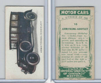 C22 Imperial Tobacco, Motor Cars, 1921, #15 Armstrong Siddeley