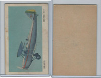 D87 Blank Back, Warplanes Of The World, 1940's, Muniz M7, Brazil