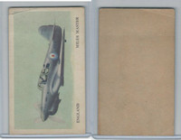 D87 Blank Back, Warplanes Of The World, 1940's, Miles Master, England