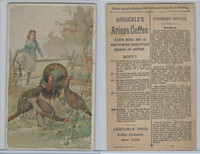 K2 Arbuckle Coffee, Subjects On Cooking, 1890, #15 Turkey