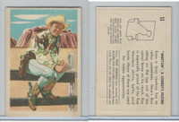 F278-19 Post Cereals, Roy Rogers Pop-Out, 1953, #11 Whittlin
