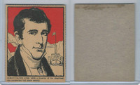 F278-50 Post Cereal, Famous North Americans, 1930's, Robert Fulton