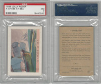 F375 Pac-Kups, Jolly Roger, 1936, A Chase At Sea, PSA 7 NM